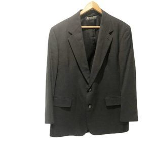 Brooks Brothers Blazer Jacket Upper Suit Black